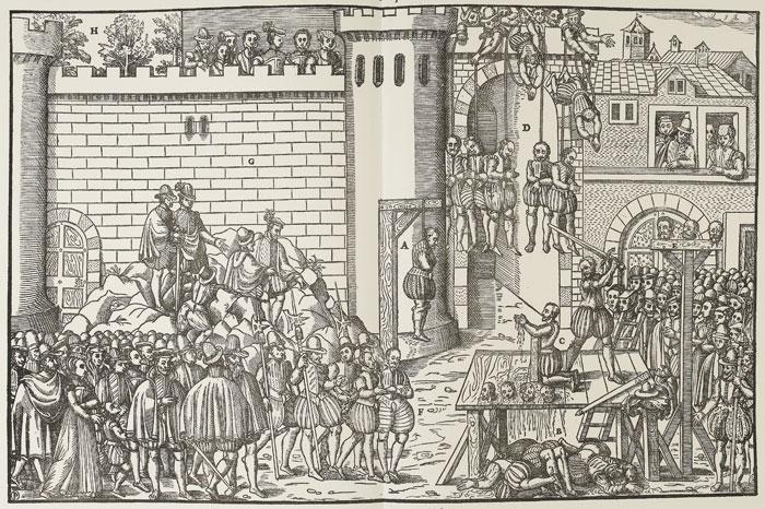 Les exécution d'amboise, mars 1560