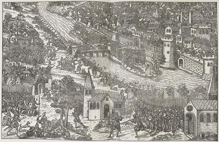 Le Siège d'Orléans, février 1563
