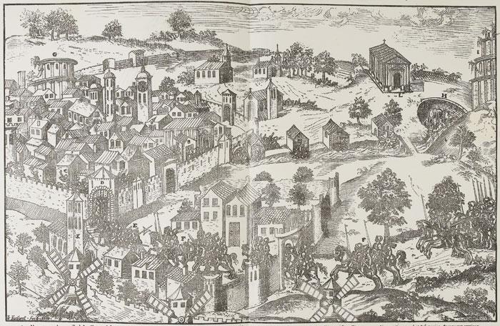 La Prise de Nîmes, 14 et 15 novembre 1569