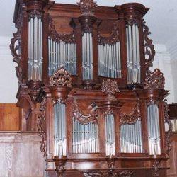 Orgue du Temple de Hunawihr (68) - Orgue Dubois, 1765