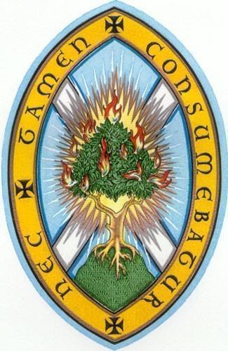 Logo Eglise d'Ecosse le buisson ardent