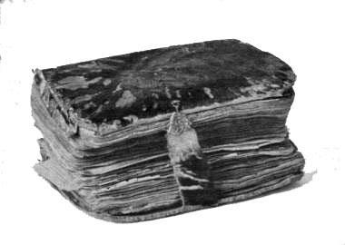 Bible envoyée par la Société biblique anglaise à Madagascar pendant la persécution (1835) et enfouie