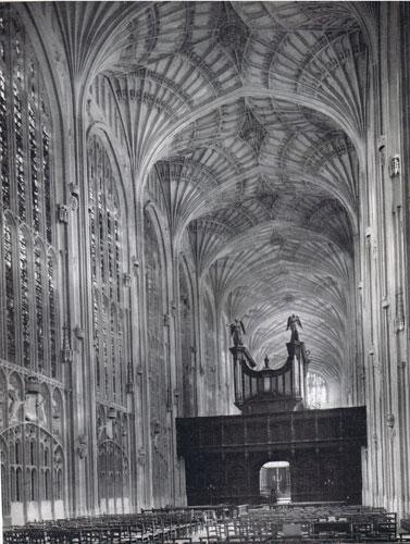 Chapelle de King's college (Cambridge)