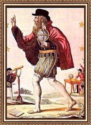 Nostradamus. Figure d'un devin : Nostradamus, colporteur d'almanachs- Image d'Epinal.