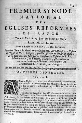Synode national de Paris (1559)