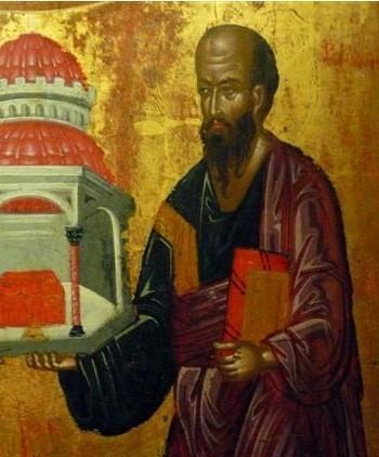 Saint Paul - Icône crétoise du XVIe siècle