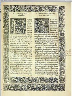 Traduction du Nouveau Testament par Erasme