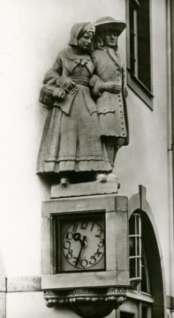 Couple d'émigrés huguenots à Bad Karlshafen