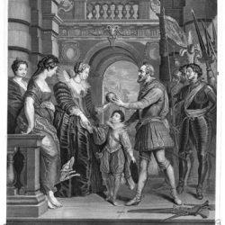Le roi Henri IV part pour la guerre d'Allemagne.
