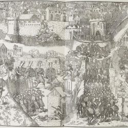Chartres assiégé par Condé Tortorel et Perrissin