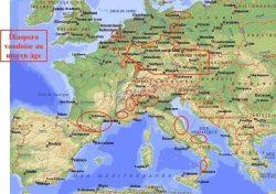 Vaudois Diaspora in the Middle Ages