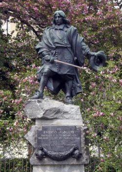 Statue Henri Arnaud, Torre Pellice