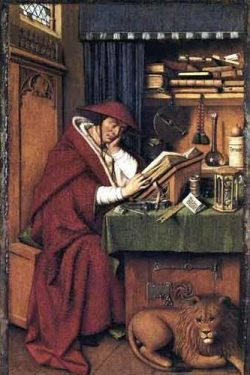 Saint Jérôme- Van Eyck
