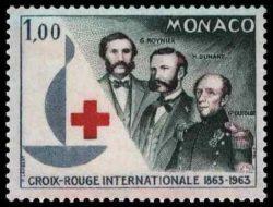 Timbre Dunant, Moynier,Dufour