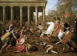 Destruction du temple de Jérusalem - Nicolas Poussin
