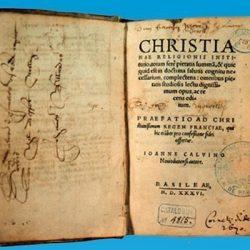 Institution de la Religon Chrétienne