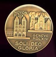 Médaille ''soli deo gratia''