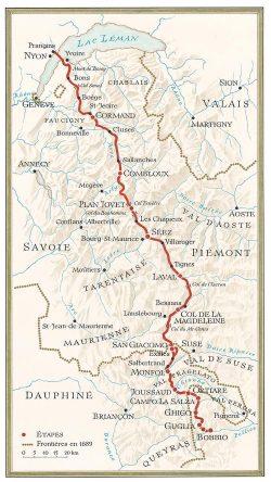 Itinéraire des Vaudois