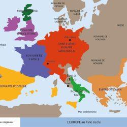 L'Europe à la fin du XVIe siècle