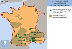 Les places de sûreté en 1579