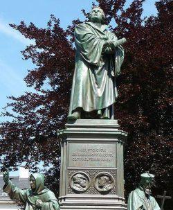 Monument à la mémoire de Martin Luther à Worms