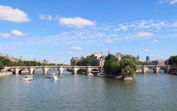 Panorama depuis le Pont des Arts