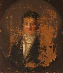 Portrait de Louis Médard. Huile sur toile, début du XIXe siècle
