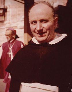 Père Yves Congar au concile Vatican II en 1964