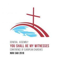 Logo de l'Assemblée générale 2018 de Novi Sad