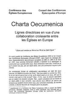 La charte oecuménique européenne (2001)