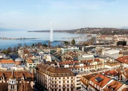 Genève et vue sur le lac - Suisse