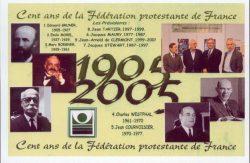 Cent ans de la Fédération protestante de France