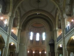 Cœur du temple de Sedan (08200 Sedan)