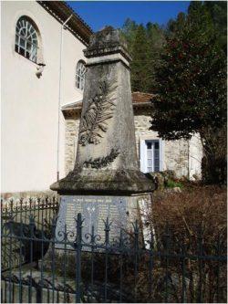 Monument aux morts de l'Estréchure (30)