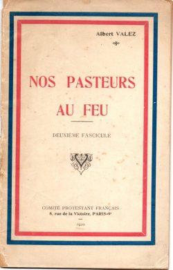 Nos pasteurs au feu - Brochure (1920)