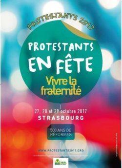 Logo Protestants en fête 2017 à Strasbourg