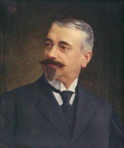 S.H. BRON Portrait de Paul Bellamy (1866-1930)