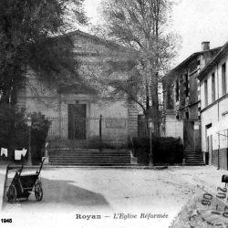 <i>Ancien temple détruit en 1945 – Royan</i>
