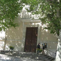 <i>Entrée du temple de Saint-Jean-du-Gard</i>