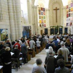 <i>Culte au temple d'Angers</i>