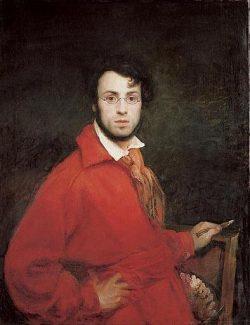 Scheffer, Ary (1795-1858), autoportrait, 1830