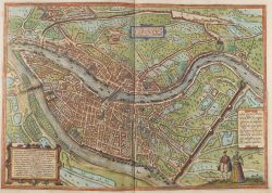 Carte de Lyon en 1572
