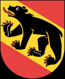 Blason du Canton de Berne - Suisse