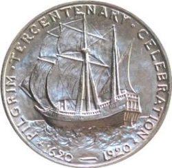 Demi-dollar commémoratif du tricentenaire de l'arrivée des