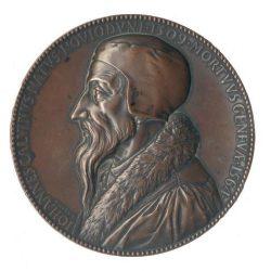 Médaille du tricentenaire de l'Institution Chrétienne de Calvin (1536)