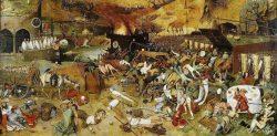 «Le Triomphe de la Mort» par Pieter Brueghel l'Ancien, 1562